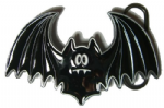 Bat Belt Buckle including display stand